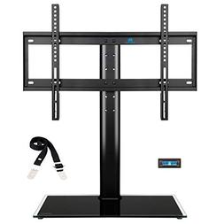 Mounting Dream MD5109 table top TV stand with anti-tip strap