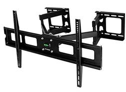 Mount-It! TV Ceiling Mount Bracket, Adjustable Height Full M