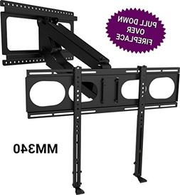 MantelMount MM340 Standard Pull Down TV Mount Bracket for Ab