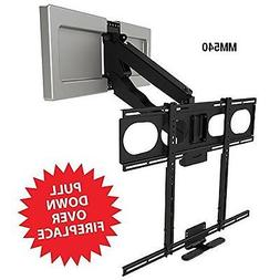 MantelMount MM540 Enhanced Pull Down TV Mount Bracket for Ab