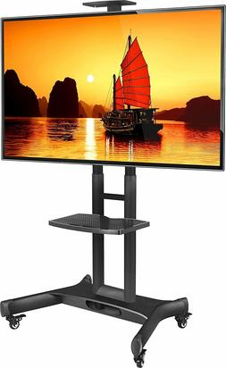 ONKRON Mobile TV Cart TV Stand w/Mount for most 32 to 65'' F
