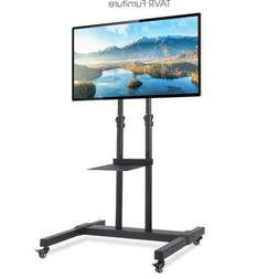 Mobile TV Stand/Cart with Universal Mount and Wheels For Mos