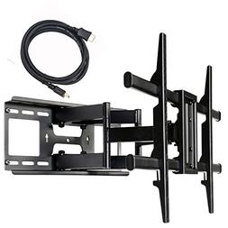 VideoSecu Full Motion Swivel Tilting TV Wall Mount Bracket f