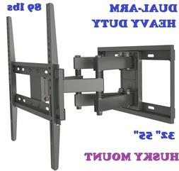 Full Motion Tilt TV Wall Mount Fits Most 32 - 55 Inch LED LC