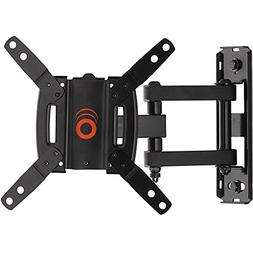 ECHOGEAR Full Motion TV Wall Mount for 15-39 inch TVs & Comp