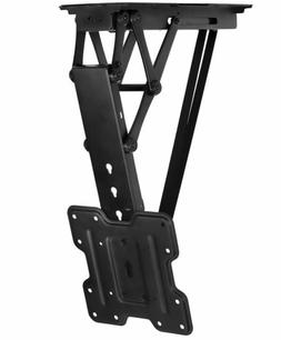 Mount-It Motorized Ceiling TV Mount With Remote, Electric Fl