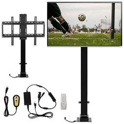 """1000mm Motorized TV Lift Mount Bracket For 32-70"""" TV With Re"""