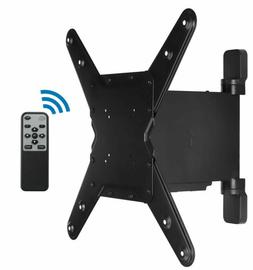 Mount-It! Motorized TV Wall Mount Bracket with Remote for 32