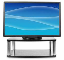 """Mount-It! Turntable Stand for TV with AV Storage, 32"""" 40"""" 43"""