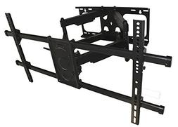 MyCableMart Full Motion 2-ARM Heavy Duty Wall Mount Bracket