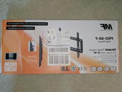 NEW MOUNT FACTORY PRO-60-F UNIVERSAL WALL MOUNT FOR LCD, LED