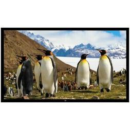 New Pyle PRJTPFL112 Home Theater Fixed Flat Projection Scree