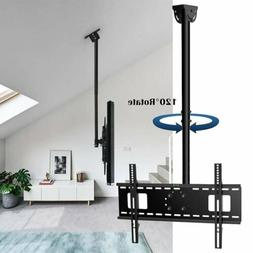 Roof Corner Ceiling TV Wall Mount Bracket Tilt Swivel 20-70""