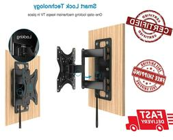 Perlesmith RV Lockable TV Wall Mount for Most 23-43 Inch LED