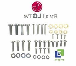 Full Set LG TV Mounting Bolts/Screws Washers - Fits Any Size