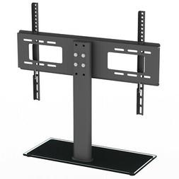 Table Top TV Stand Base w/ Universal Swivel Mount Height Adj
