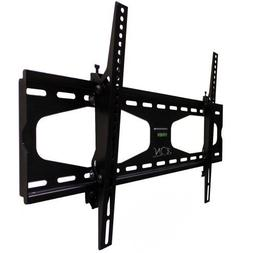 """23-50"""" Tilting TV Mount with Security Lock and Level Adjust-"""