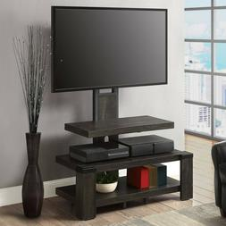 TV Mount Stand 55 Inch 2-Tier with Floater Entertainment Gam