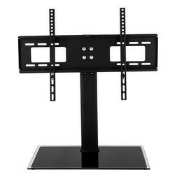 TV Stand Base with Universal Mount and Height Adjustable for