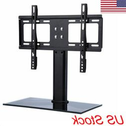 tv stand base with universal swivel mount