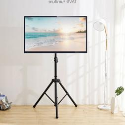 TV Tripod Portable Floor TV Stand with Swivel Mount for 32-5