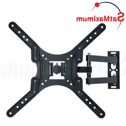 """FULL MOTION TV Wall Mount 23 - 55"""" inch Swivel One Arm TV Br"""