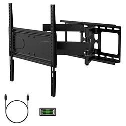 UNIPRO TV Wall Mount Bracket with Full Motion Dual Articulat