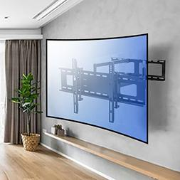 Sunydeal TV Wall Mount Bracket with Full Motion Dual Articul