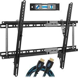 Cheetah TV Wall Mount Bracket for 20-80 TVs with HDMI Cable