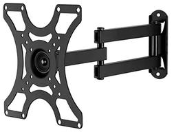 Mount-It! TV Wall Mount Bracket with Full Motion Arm Fits 13