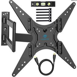 """PERLESMITH TV Wall Mount for 26""""-55"""" TVs with Swivel & Ext"""