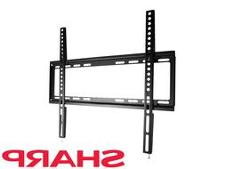 "Ultra Slim Fixed TV Wall Mount Bracket VESA for Sharp 42"" 46"