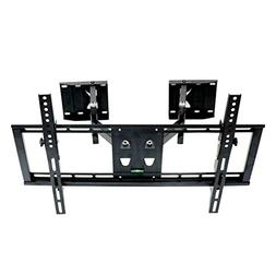 Full Motion Corner TV Wall Mount Tilt Bracket with Swivel Ar