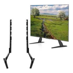 """Universal Table Top TV Stand Base Mount for 27- 55"""" Height A"""