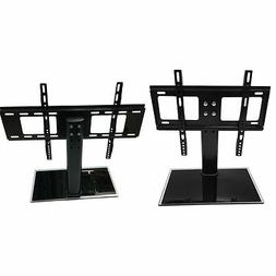 Universal Tabletop TV Stand Pedestal Base Wall Mount for 10""
