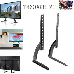 universal tv bracket stand tabletop base stand