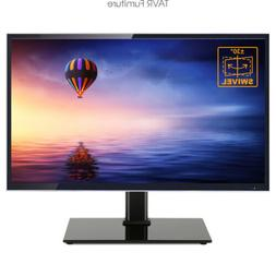TAVR Universal TV Stand with Swivel Mount and Height Adjust
