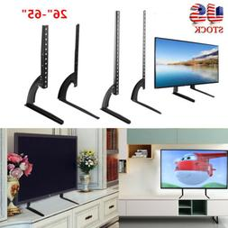 Universal TV Stand Base Tabletop VESA Pedestal Mount Bracket