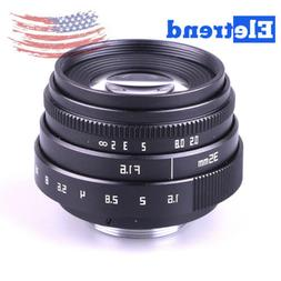 US Mini 35mm F1.6 APS-C Television TV Lens/CCTV Lens For 16m