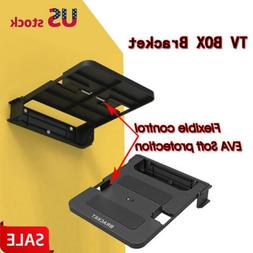 Wall Mount Set Top Box Stand Bracket DVD 90° Foldable Route