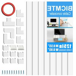 Wall Mount TV CABLE COVER Wire Cord Management ChannelOrgani