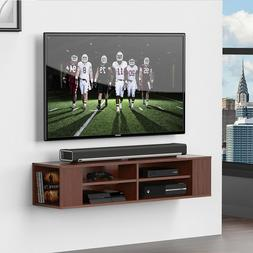 Fitueyes Wall Mount TV Stand Media Console Entertainment Cen