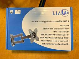 Wali WL-1330LM Articulating TV LCD Monitor Wall Mount 14in.